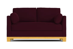 "Avalon Loveseat :: Leg Finish: Natural / Size: Loveseat - 57""w"