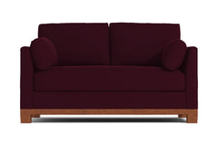 "Avalon Apartment Size Sofa :: Leg Finish: Pecan / Size: Apartment Size - 71""w"