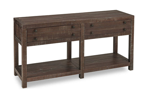 Redondo Pier Console Table MAHOGANY
