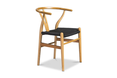 Sylmar Side Chair NATURAL/CHOICE OF SEAT COLOR - Set of 2