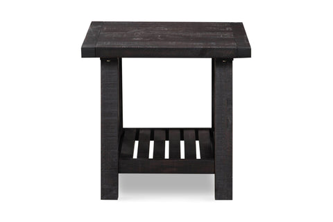 Vantage Side Table RUSTIC BLACK
