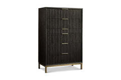 Westmont Chest BLACK/BRUSHED STEEL - Apt2B - 1