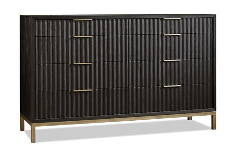 Westmont Dresser BLACK/BRUSHED STEEL - Apt2B - 1