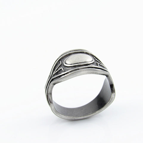 Black Panther Chain Ring