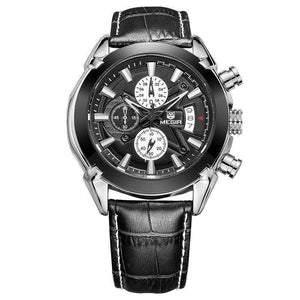 Leather Luxury Watch(2 Variants)