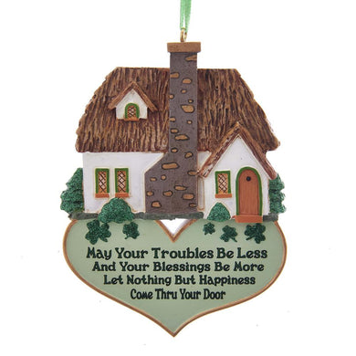 Kurt Adler Irish Home Blessing Ornament, A1842