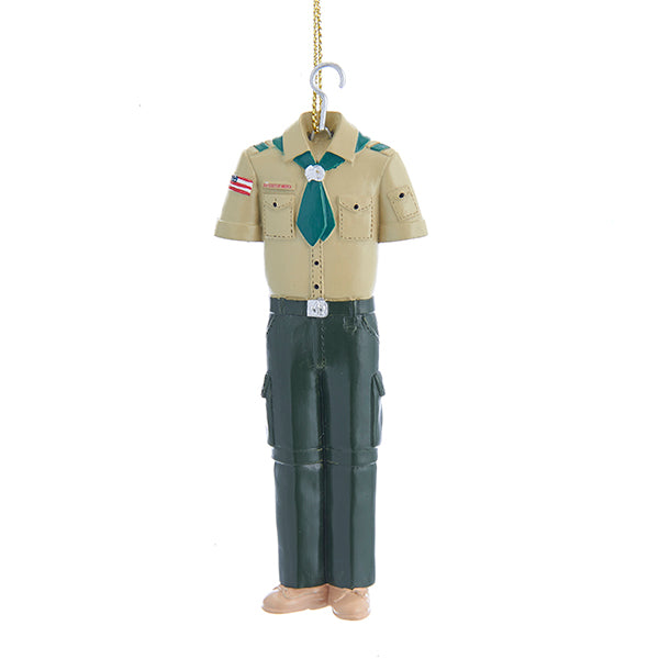 Kurt Adler Boy Scouts Uniform Ornament, BS2171B