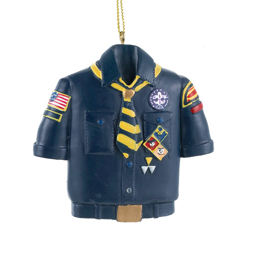 Kurt Adler Cub Scout Blue Shirt Ornament, BS4803C