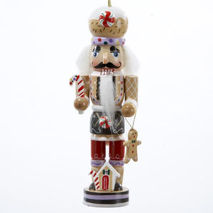Kurt Adler Gingerbread Nutcracker Ornament, C0134