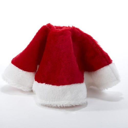 Kurt Adler 15-Inch Miniature Plush Red and White Tree Skirt, C1886