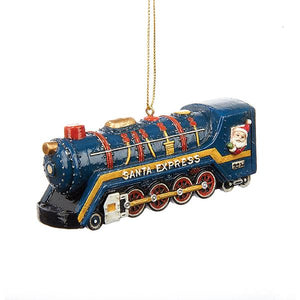 Kurt Adler Santa Express Train Ornament, C6738