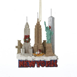 Kurt Adler New York City Travel Ornament, C7294NY