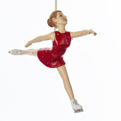 Kurt Adler Kurt Adler 5.5-Inch Ice Skating Girl Ornament, C7942