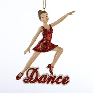 Kurt Adler Dance Girl Ornament, C8338