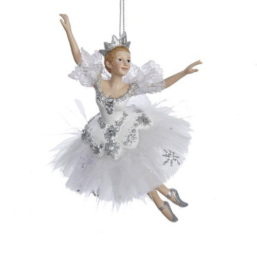 Kurt Adler Snow Queen Ballerina Ornament, C8574