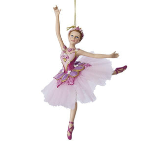 Kurt Adler Sugar Plum Ballerina Ornament, C8575