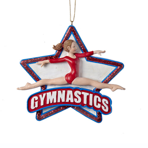 Gymnastics Girl Ornament