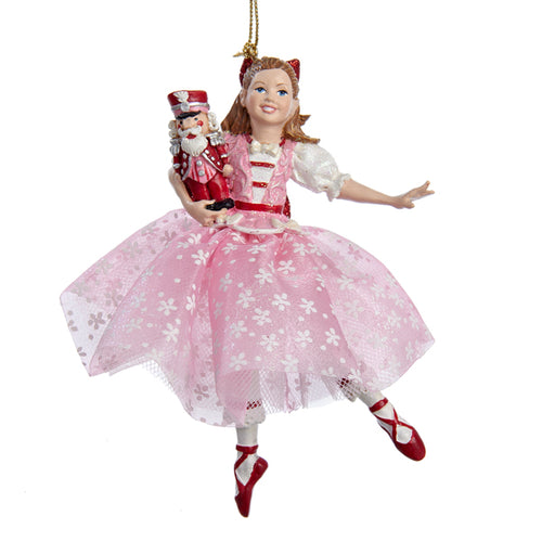 Kurt Adler Clara Nutcracker Girl Ornament, C8822