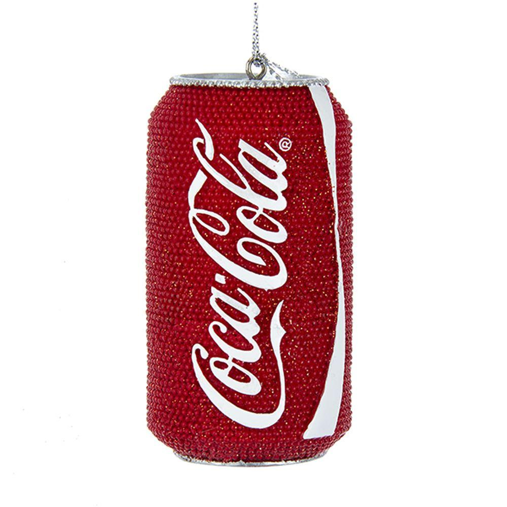 Kurt Adler Coca-Cola Glittered Coca-Cola Can Ornament, CC2176