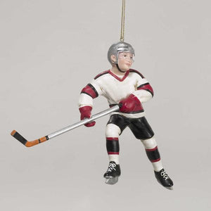 Kurt Adler Ice Hockey Figurine Ornament, D0162