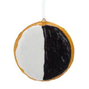 Nostalgic Black & White Chocolate Cookie Ornament, D3681