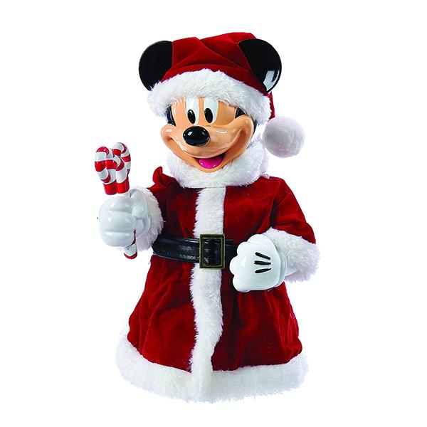 Kurt Adler Disney Mickey Mouse With Bendable Arms Treetop, DN9168