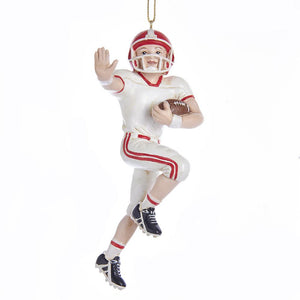 Kurt Adler FOOTBALL BOY ORNAMENT, E0310