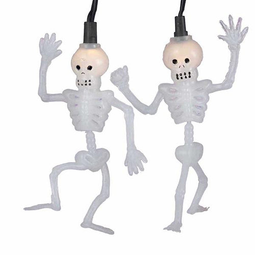 Kurt Adler Dancing Skeleton Light Set, HW1374