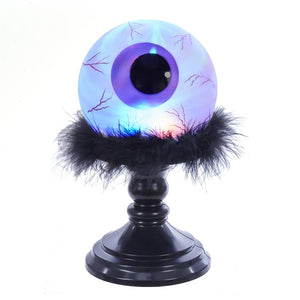Kurt Adler Battery-Operated Acrylic LED Eyeball Figurine, HW1731