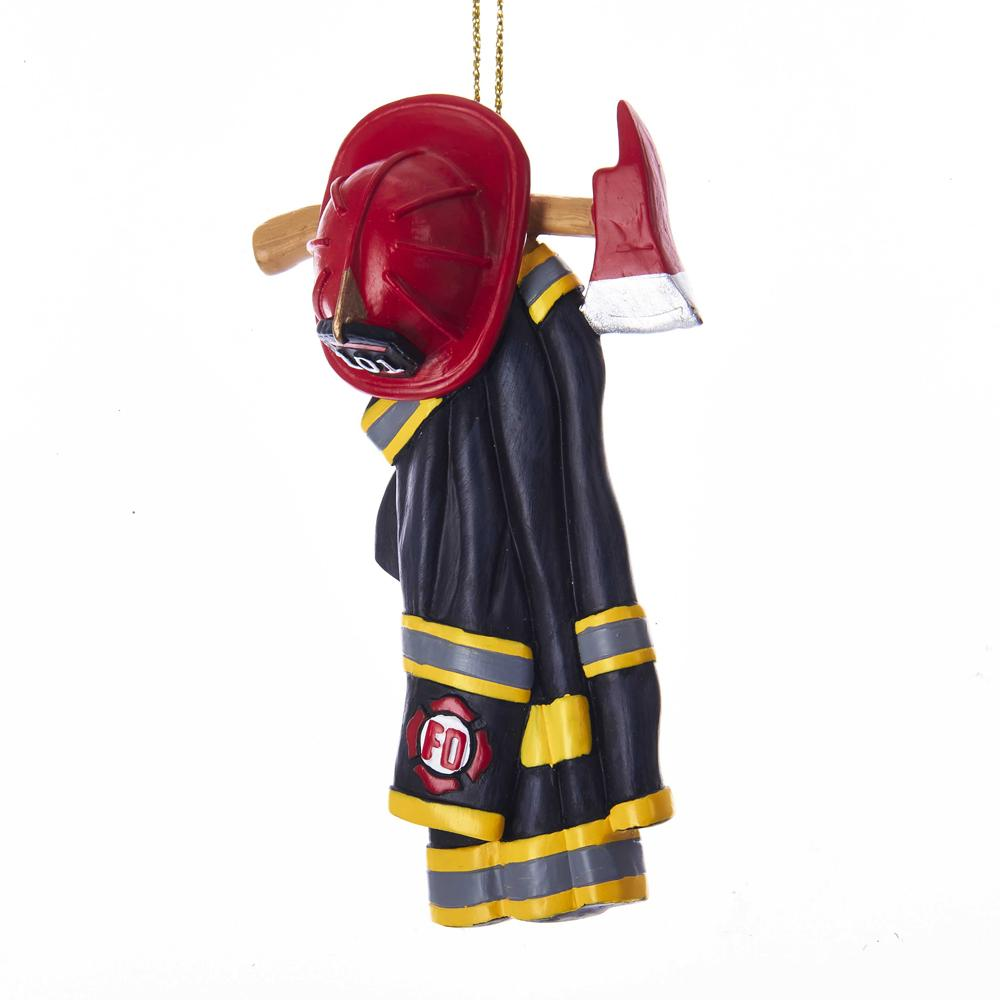 Kurt Adler Firefighter Uniform Ornament, J8509