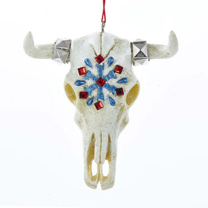 Kurt Adler Ox Head Bone Ornament, J8517