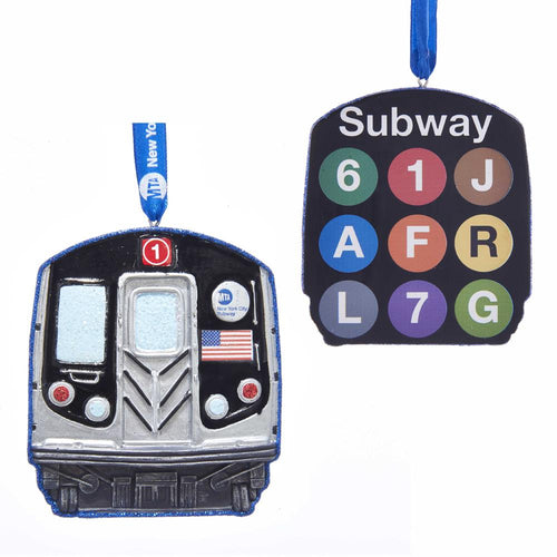 Kurt Adler MTA NYC Transit Subway Ornament, MTA2181
