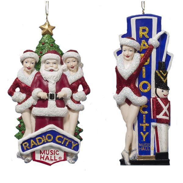 Kurt Adler Rockettes Ornaments, RK0001
