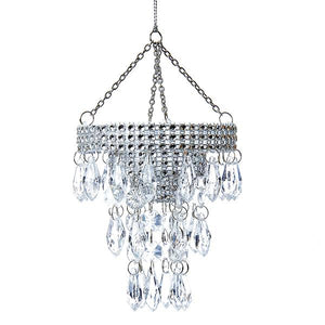 Kurt Adler Chandelier Acrylic Ornament, T0807
