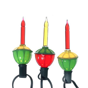 Kurt Adler Multi-Colored Bubble Light Set, UL1002