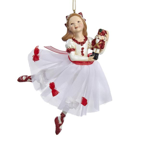 Kurt Adler Clara Nutcracker Suite Ornament, W20006