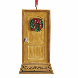 "Kurt Adler ""New Apartment"" Door Ornament For Personalization, W8432"