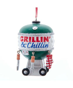 "Barbecue ""Grillin' And Chillin'"" Ornament, A2009"