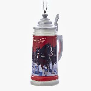 Budweiser Stein Beer Mug Ornament