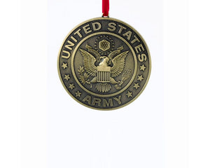 U.S. Army® Metal Ornament