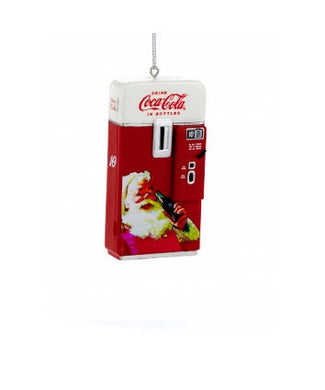 Coca-Cola® Red and White Vintage Vending Machine Ornament, CC2131