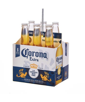 Corona® Extra 6-Pack Ornament, CE2161