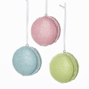 Macaroon cookie ornament - D3058