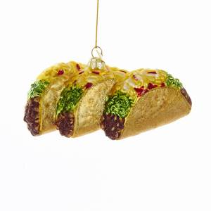 Noble Gems™ glass taco ornament