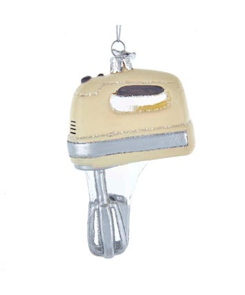 Noble Gems™ Retro Hand Mixer Glass Ornament, NB1527