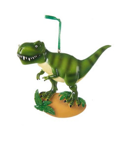 T-Rex Dinosaur Ornament For Personalization