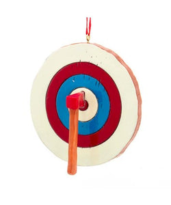 Axe Throwing Ornament, W8467
