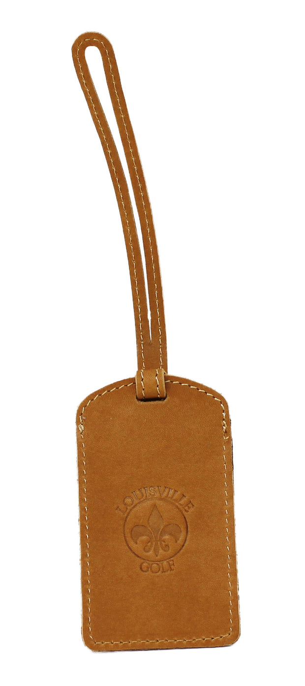 Genuine Leather Identification Tag | Louisville Golf