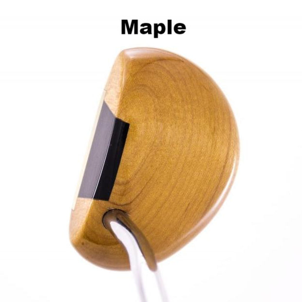 Authentic Wood Mallet Putter