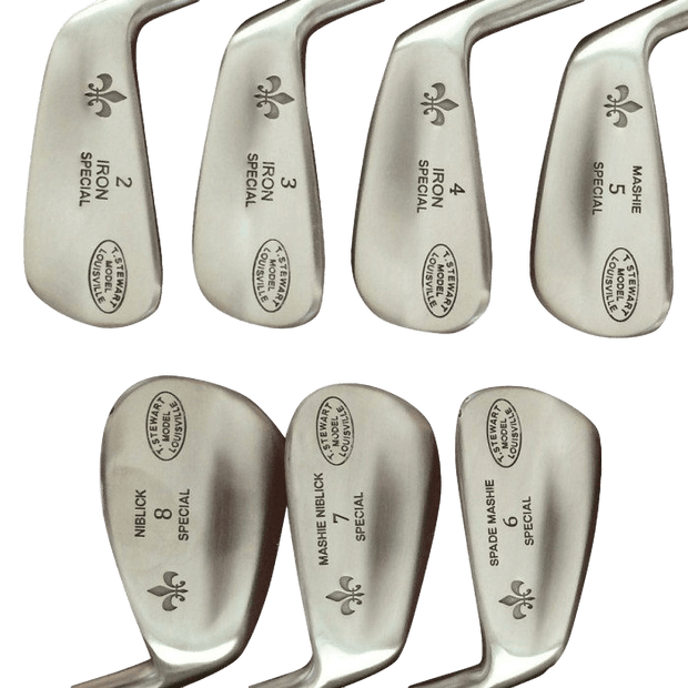 T. Stewart Series | Hickory Iron Set - Louisville Golf